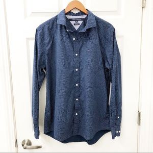 Tommy Hilfiger custom fix button down shirt size L